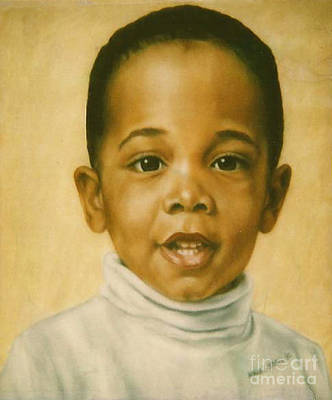 Painting - Paintings By Monica C. Stovall - Pastel Portrait Collection No. Pp37 by Monica C Stovall