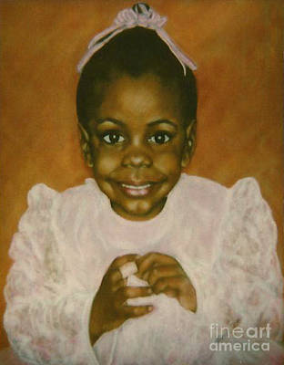Painting - Paintings By Monica C. Stovall - Pastel Portrait Collection No. Pp39 by Monica C Stovall