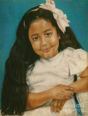 Painting - Paintings By Monica C. Stovall - Pastel Portrait Collection No. Pp41 by Monica C Stovall