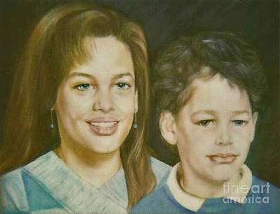 Painting - Paintings By Monica C. Stovall - Pastel Portrait Collection No. Pp48 by Monica C Stovall