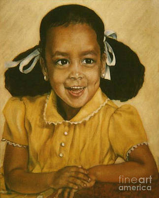 Painting - Paintings By Monica C. Stovall - Pastel Portrait Collection No. Pp52 by Monica C Stovall