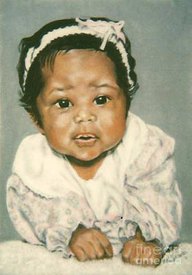 Painting - Paintings By Monica C. Stovall - Pastel Portrait No. Pp7 by Monica C Stovall