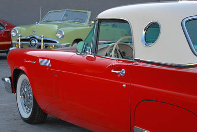 Photograph - Pair Of Classic Fords by Howard Markel