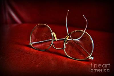 Pair Of Glasses - Optician Art Print by Paul Ward