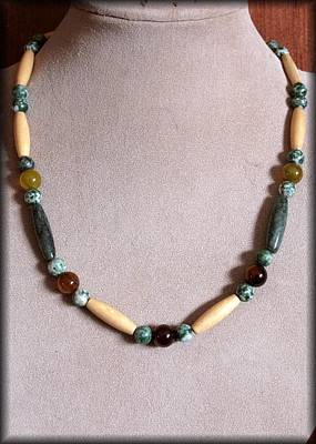 Lampwork Jewelry - Pairie Tribal by Jan Brieger-Scranton