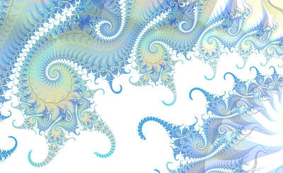 Digital Art - Paisley Tails by Fran Riley