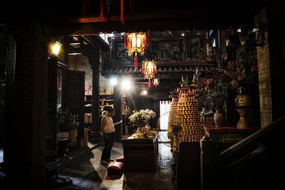 Wan Chai Photograph - Pak Tai Temple Hong Kong by Thierry CHRIN