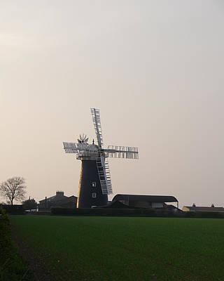 Photograph - Pakenham Windmill 1 by Richard Reeve