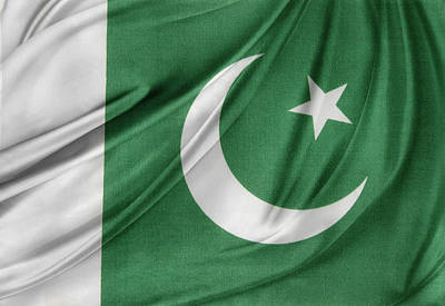 National Symbol Photograph - Pakistan Flag  by Les Cunliffe