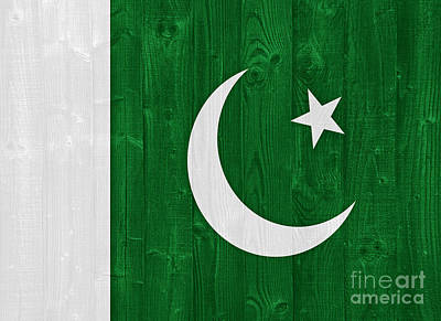 Farm House Style - Pakistan flag by Luis Alvarenga
