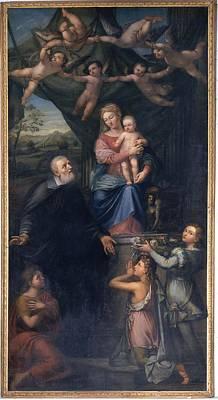 Pala Pietro, Saint Philip Neri Art Print