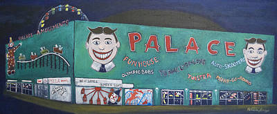 Asbury Park Painting - Palace 2013 by Patricia Arroyo