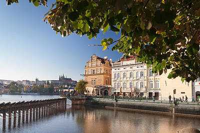 Palace And Museum At The Riverside Art Print by Panoramic Images