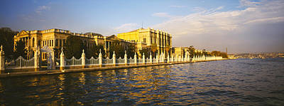 Bosphorus Photograph - Palace At The Waterfront, Dolmabahce by Panoramic Images