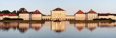Palace At The Waterfront, Nymphenburg Art Print