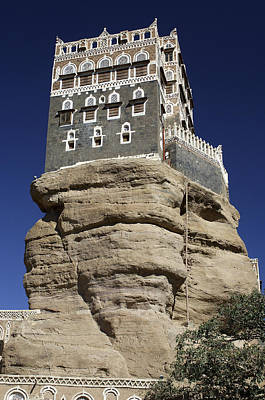 Yemen Photograph - Palace by Christian Heeb