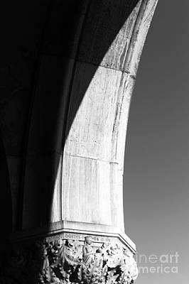 Photograph - Palace Column Shadows by John Rizzuto