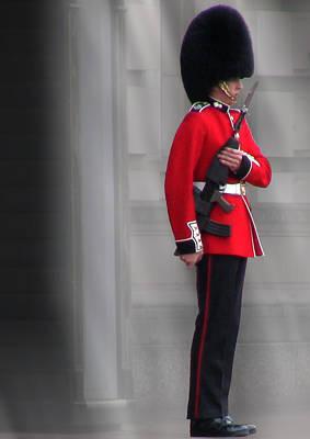 Buckingham Palace Digital Art - Palace Guard by William Howard