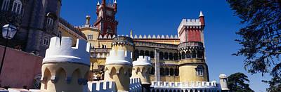 Palace In A City, Palacio Nacional Da Print by Panoramic Images