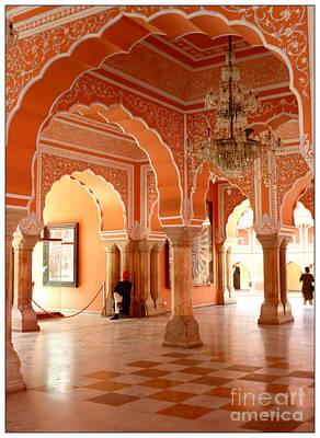 Palace In Jaipur Art Print by Sophie Vigneault