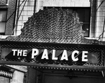 Photograph - Palace Marquee by Coby Cooper