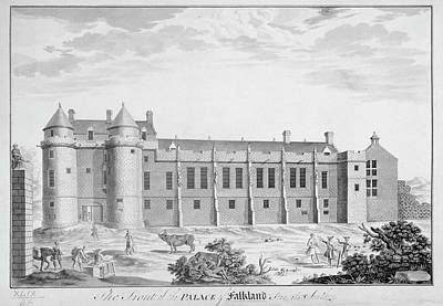 Indian Ink Photograph - Palace Of Falkland by British Library