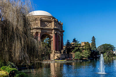 Ethereal - Palace Of Fine Arts In Color by Bill Gallagher