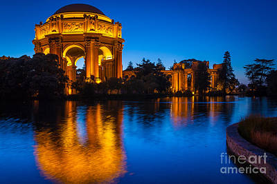 Palace Of Fine Arts Art Print by Inge Johnsson