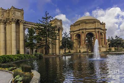 Palace Of Fine Arts San Francisco Art Print