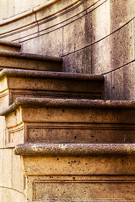 Photograph - Palace Of Fine Arts Staircase by Bill Gallagher