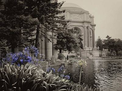 Photograph - Palace Of Fine Arts Theater Sepia by David Beebe