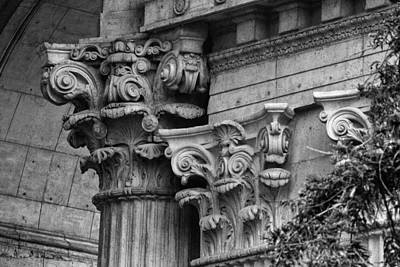 Photograph - Palace Of Fine Arts Theater Stonework by David Beebe