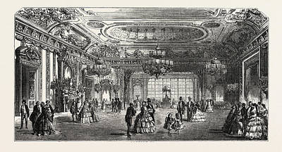 Palace Of Versailles Print by Litz Collection
