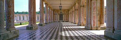 Palace Of Versailles Palais De Art Print by Panoramic Images