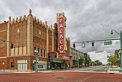 Town Photograph - Palace Theater by Marcia Colelli