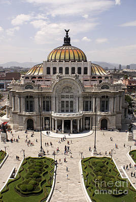 Photograph - Palacio De Bellas Artes Mexico City by John  Mitchell