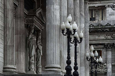 Photograph - Palacio Del Congreso Argentina by Bob Christopher