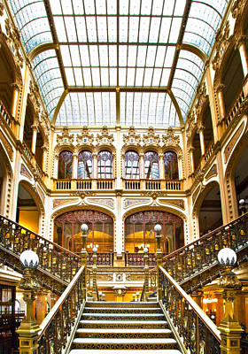Photograph - Palacio Postale by John  Bartosik