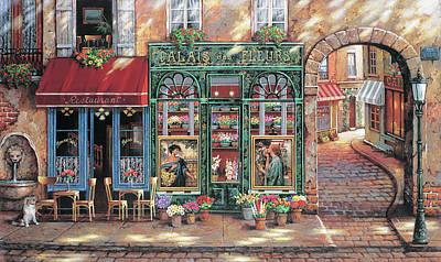 Painting - Palais Des Fleurs by John P. O'brien