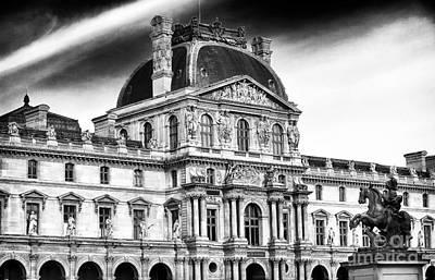 Louve Photograph - Palais Du Louvre by John Rizzuto