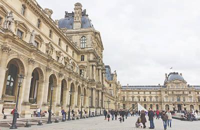 Richelieu Photograph - Palais Du Louvre by Pati Photography