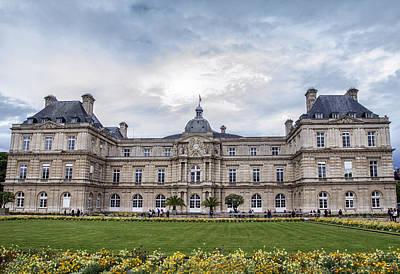 Photograph - Palais Du Luxembourg by Georgia Fowler