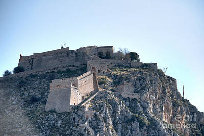 Photograph - Palamidi Castle Nafplio Greece by Deborah Smolinske