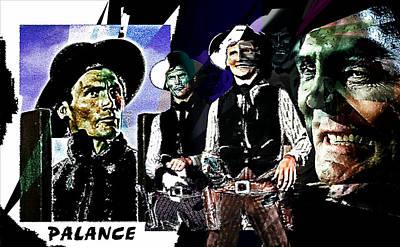 Jack Palance Painting - Palance by Hartmut Jager
