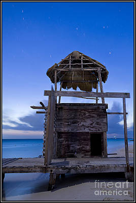 Photograph - Palapa Nocturna by Agus Aldalur