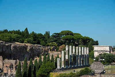 Photograph - Palatine Hill by Christina Klausen