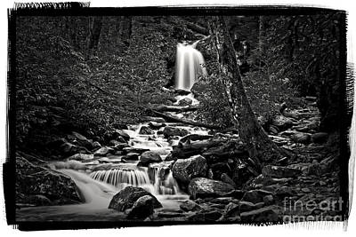 Waterfalls And Trees Landscape Photograph - Palatium Waterfalls by Paul W Faust -  Impressions of Light