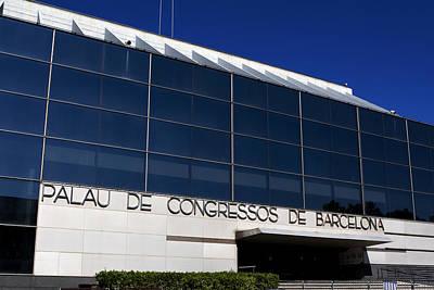 Photograph - Palau De Congressos De Barcelona by Lorraine Devon Wilke