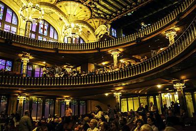 Musica Photograph - Palau De La Musica  - Barcelona - Spain by Madeline Ellis