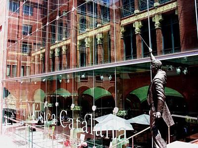 Photograph - Palau De La Musica Catalana - Barcelona by Jacqueline M Lewis